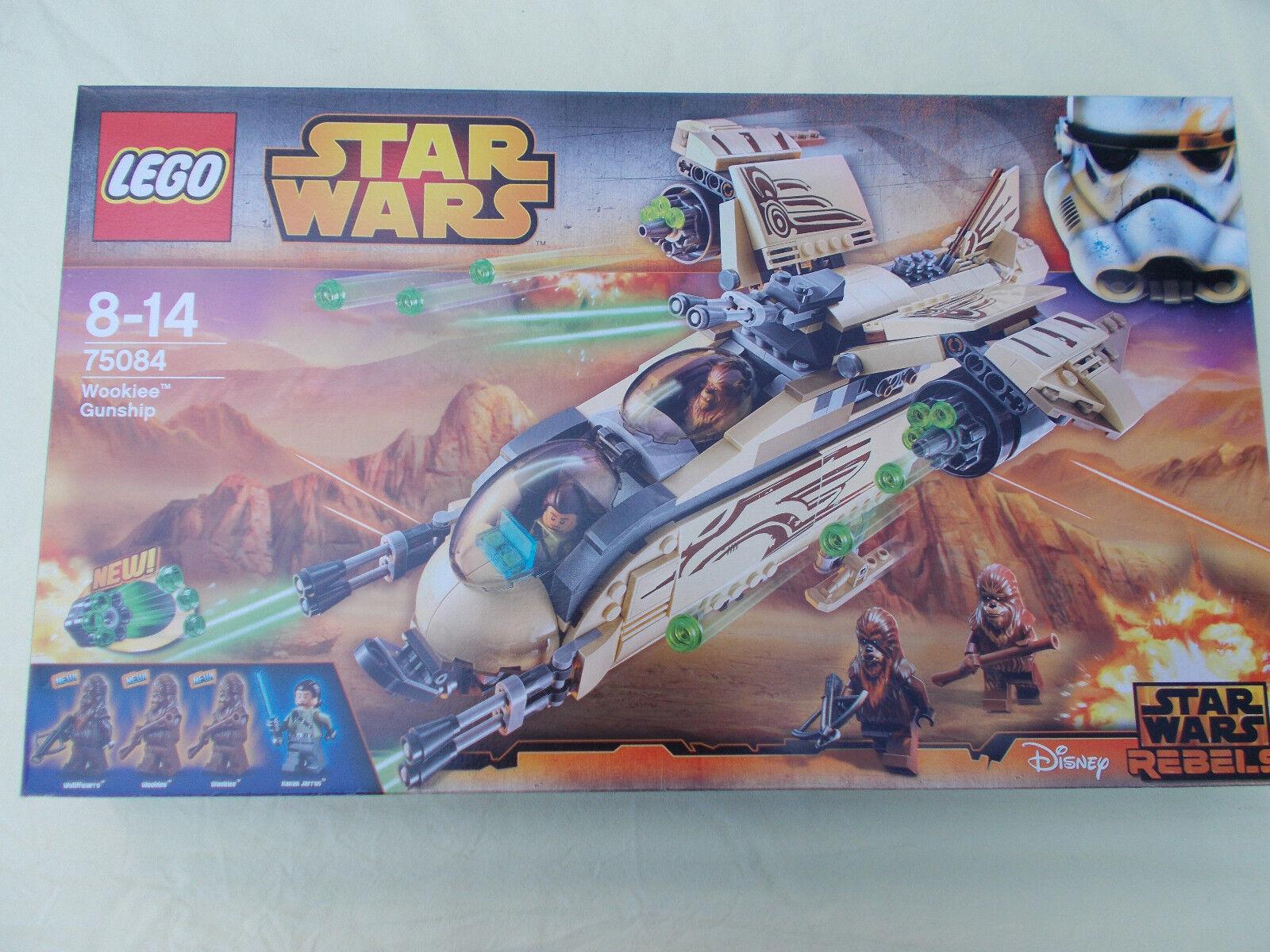 LEGO StarWars Wookiee Gunship (75084) ungeöffnet ovp