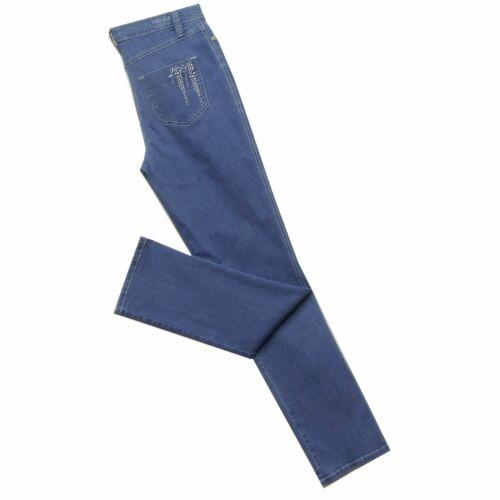 Indigo or Pink Stretch Denim Michelle Jeans Magic 8379 1862