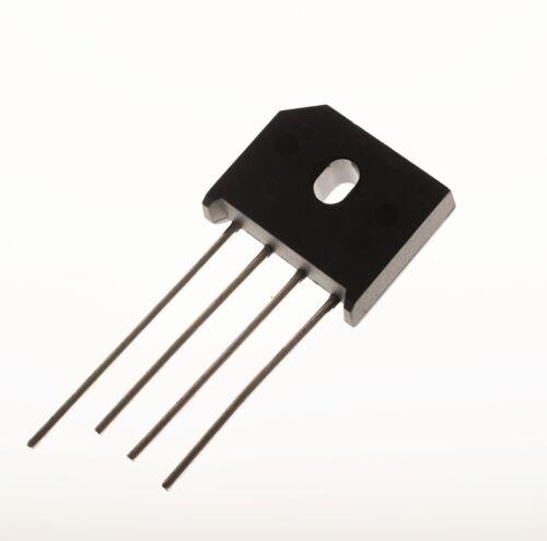 2x Diotec KBU8D 140V 8A Silizium Brückengleichrichter 200V Einphasig #704061