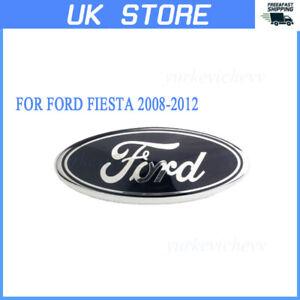 Insignia-Oval-1PC-frente-emblema-Sombrero-Trasera-Para-Ford-Fiesta-2008-2012