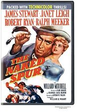 The Naked Spur (1953) ENGLISH COVER * James Stewart * Region 2 (UK) DVD * New