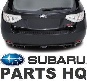 Subaru Of Claremont >> Subaru Impreza WRX STI OEM Rear Bumper Cover Protector ...