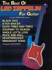 The Best of Led Zeppelin for Guitar by Warner Bros. Publications Inc.,U.S. (Paperback, 2001)