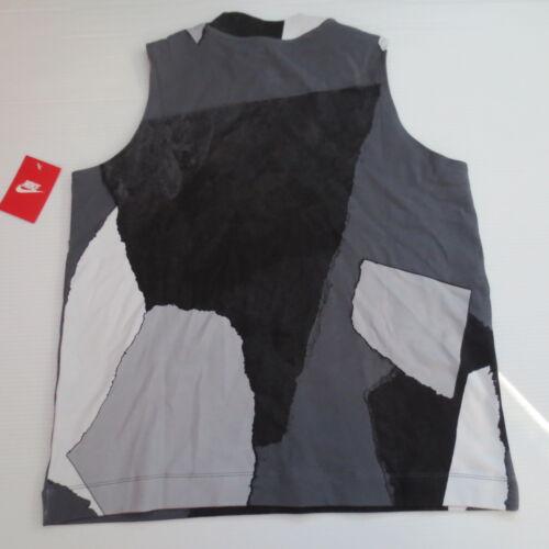 Camiseta 823233581654 Gris 021 Mujer 805008 mangas sin S Talla Sportwear Nike Nwt PxqRPraS