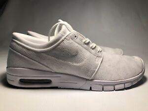 buy popular 4abb8 4f0d5 Image is loading Nike-SB-Stefan-Janoski-Max-Size-10-Skating-