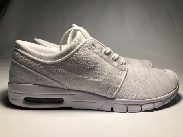 Nike Air SB Stefan Janoski Max Sneaker Shoes EU 46 US 12 UK 11 White 631303 114