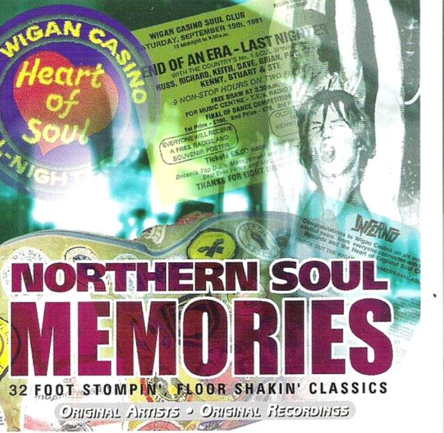 NORTHERN SOUL MEMORIES various (2X CD 32 track compilation)