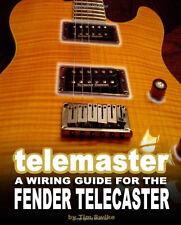 Guitar Fender Telecaster Pickups Bridge Neck Body Wiring Kit Parts Book on CD