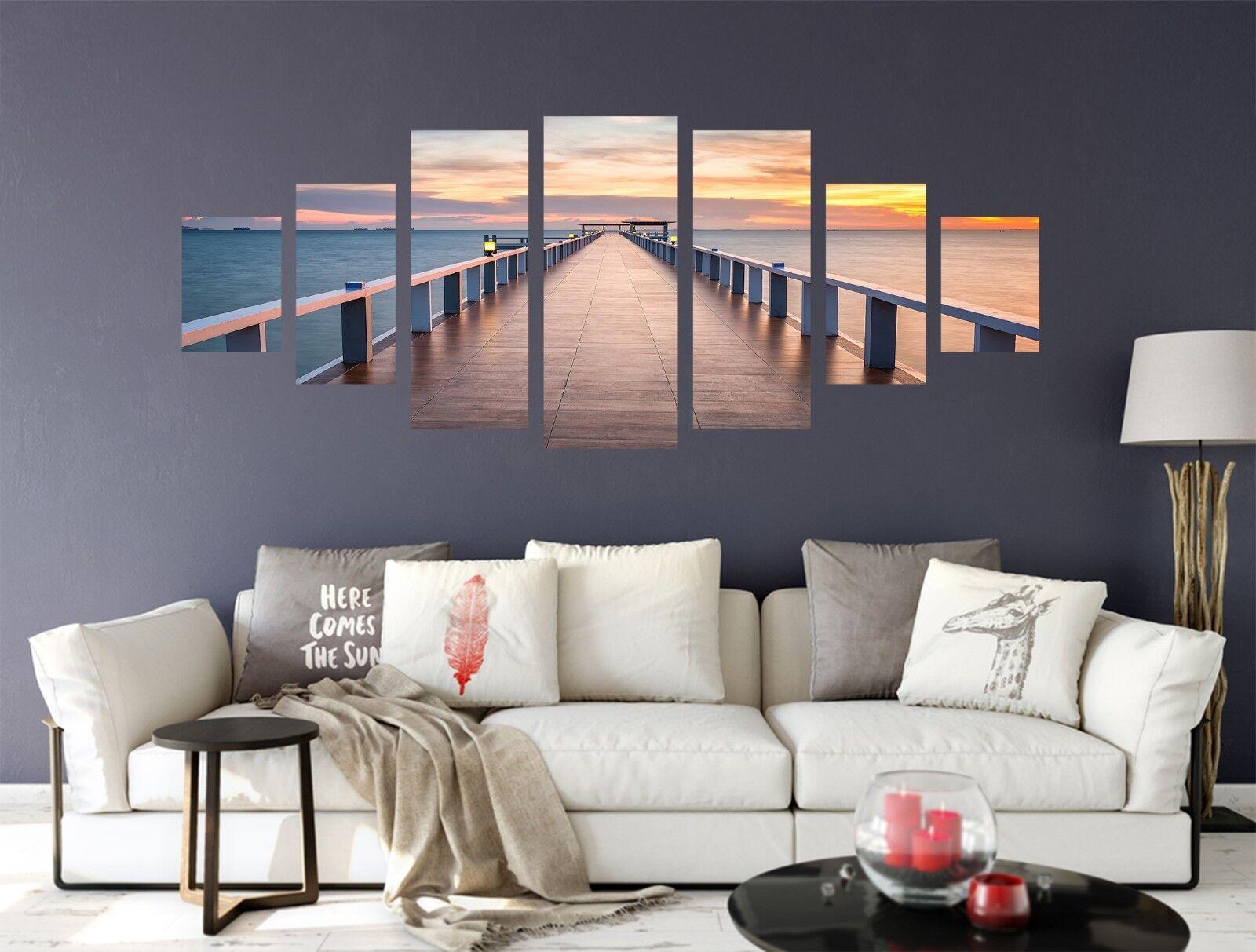 Puente de 3D 850 impresión sin enmarcar Papel de Parojo Calcomanía Decoración De Parojo Parojo Interior AJ Jenny