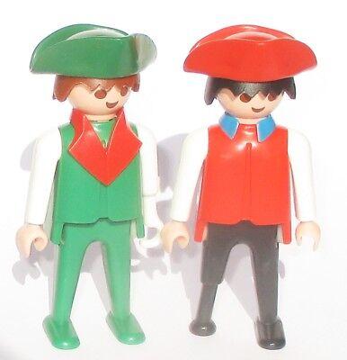Playmobil 2 x PIRAT Figur 3550 Piratenschiff Hakenarm Piraten Holzfuss Figuren
