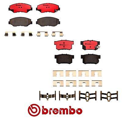 For Honda Civic Civic del Sol Front+Rear Brake Pad Sets Brake Kit Brembo OEM