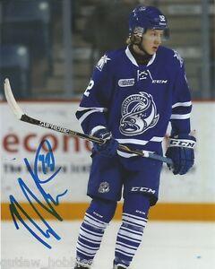 Mississauga-Steelheads-Alexander-Nylander-Autographed-Signed-8x10-Photo-COA-A