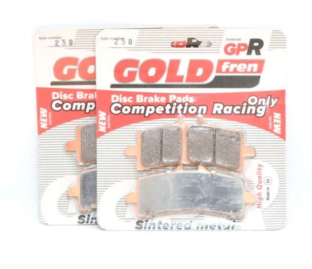 Goldfren GPR 258 (EBC GPFAX447/Brembo 07BB37) Race Brake pads KTM RC8R Superduke