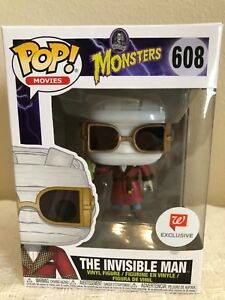 Funko-Pop-Movies-THE-INVISIBLE-MAN-Walgreens-Exclusive-Vinyl-Figure-608-NEW