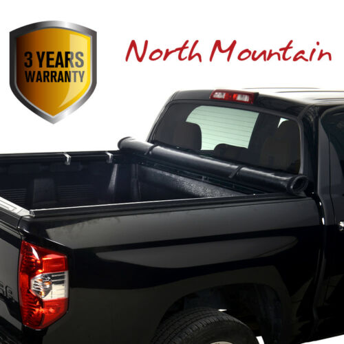 Blk Soft Vinyl Roll-Up Tonneau Cover Assembly Fit 15-18 Colorado//Canyon 5.2/' Bed