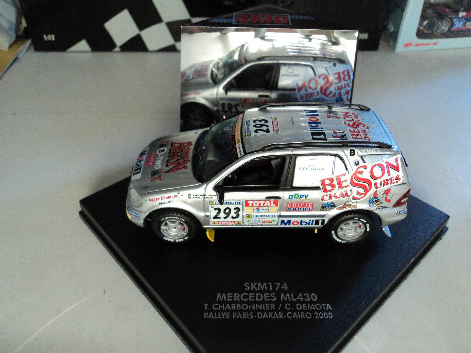 Skid 1 43 Mercedes ML430  293 Dakar 2000