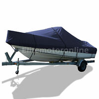 Deluxe Bayliner Capri 2350 Bd/ss Br Bowrider I/o Trailerable Boat Cover Navy
