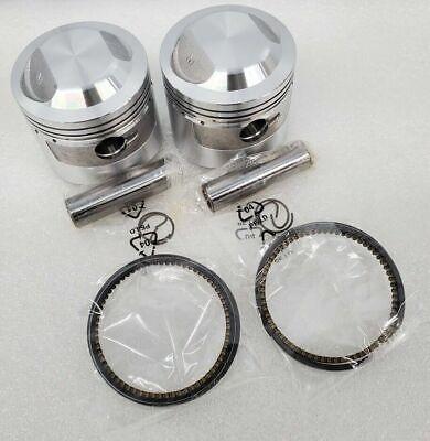 HONDA CB450 NEW OEM PISTON RINGS SET .50MM 2ND O//S CB 450 500  13031-375-000
