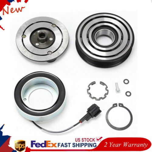 A/C AC Compressor Clutch fit For Nissan Tiida & Versa w/Bearing & Front Plate