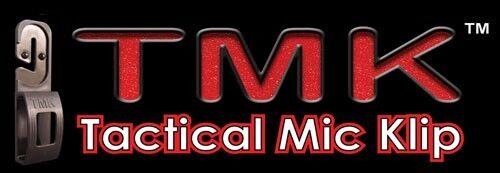 Tactical Mic Klip Lapel Microphone Holder Clip for Police EMT Fire TSA TMK