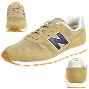 Details zu New Balance ML373OTO Classic Sneaker Herren Schuhe beige 373