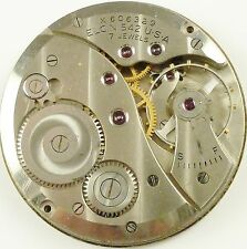 Elgin Pocket Watch Movement - Grade 542 - Spare Parts / Repair