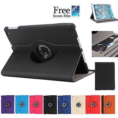 360 Rotating ID Wallet Smart Cover Case for Apple iPad Air iPad mini 3 2 1