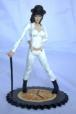 1/6 Resin Model Kit, Sexy action fiigure Tick Tock Girl (clockwork orange)