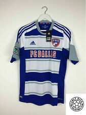 FC DALLAS 12/13 *BNWT* Away Football Shirt (M) Soccer Jersey USA MLS