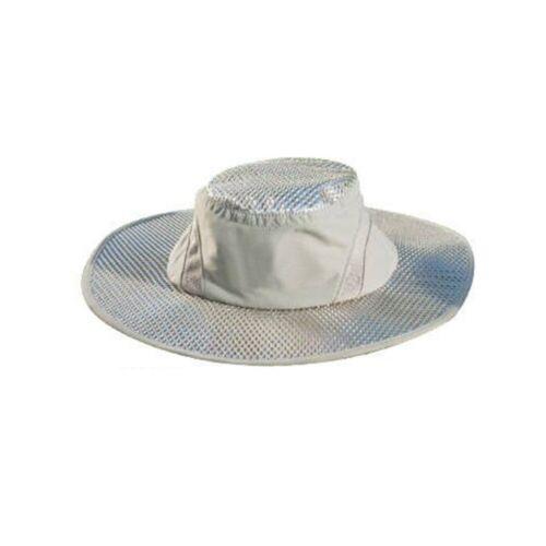 Ice Cap Sunscreen Evaporative Cooling Hat UV Protection Beige Arctic Ice Cap US