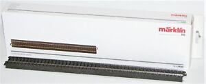 Maerklin-H0-24360-S-C-Gleis-gerade-360-mm-10-Stueck-NEU-OVP