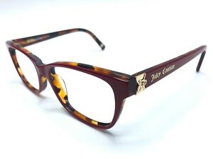 8a71415830 Details about JUICY COUTURE Women's Eyeglass Frames JU154 01L9  Tortoise Burgundy 52mm 0750