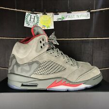 f858ed092ec121 item 2 Nike Air Jordan 5 Retro Reflective Camo P51 Dark Stucco Red V 136027  051 Size 12 -Nike Air Jordan 5 Retro Reflective Camo P51 Dark Stucco Red V  ...