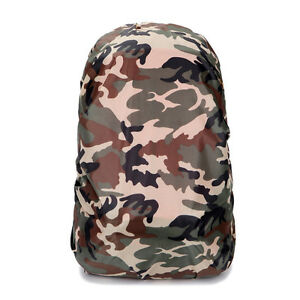 dd6e7467f5 Details about Waterproof Camo Rain Cover Travel Hiking Backpack Outdoor  Camping Bag   P Gift