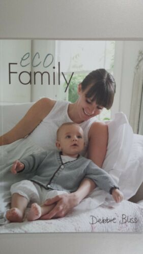 "Debbie Bliss Pattern Book ""Eco Family"" 9 Gorgeous Projects to Knit for Family"