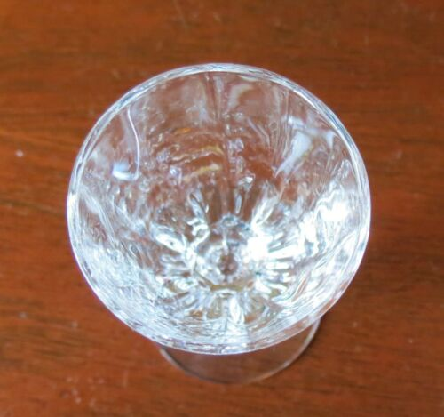 s Heisey Thin Blown Crystolite Clear Crystal Liqueur//Cordial Goblet