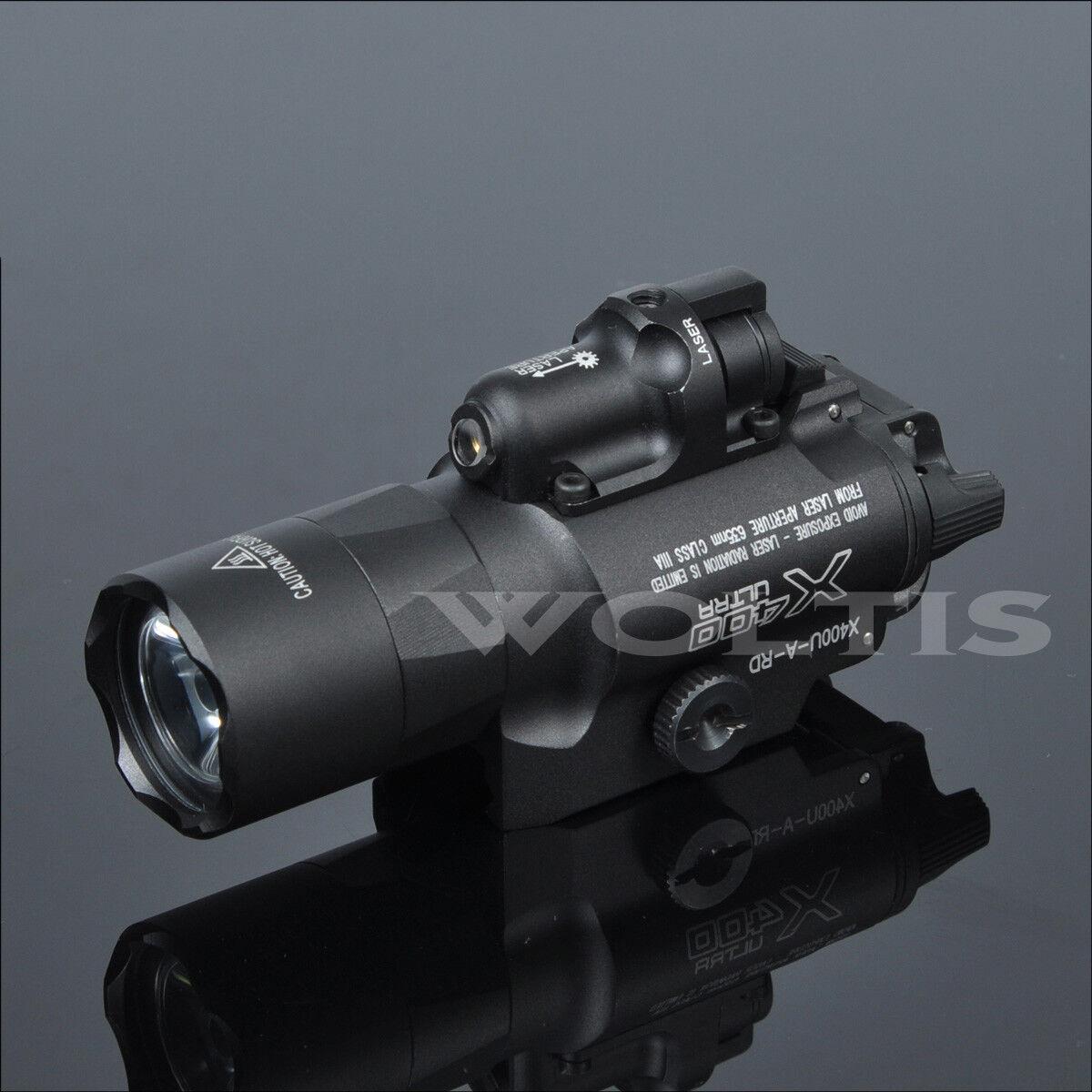 X400 X400U X400V Weapon Light Constant   Strobe   Night Vision IR Pistol Light