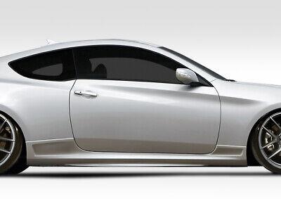 109638 10-16 Fits Hyundai Genesis VG-R Duraflex Side Skirts Body Kit!!