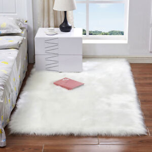 Faux-Fur-Sheepskin-Rug-Balcony-Large-Fluffy-Mat-Pad-Room-Sofa-Hairy-Floor-Carpet