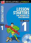 Lesson Starters for Interactive Whiteboards by Christine Moorcroft, Les Ray (Mixed media product, 2008)