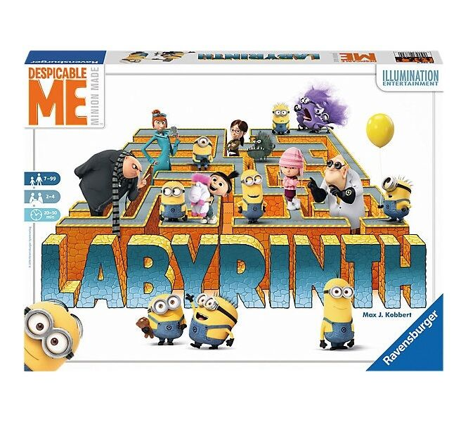 LABYRINTH - DESPICABLE ME   MINIONS - Ravensburger 26730 - NEU