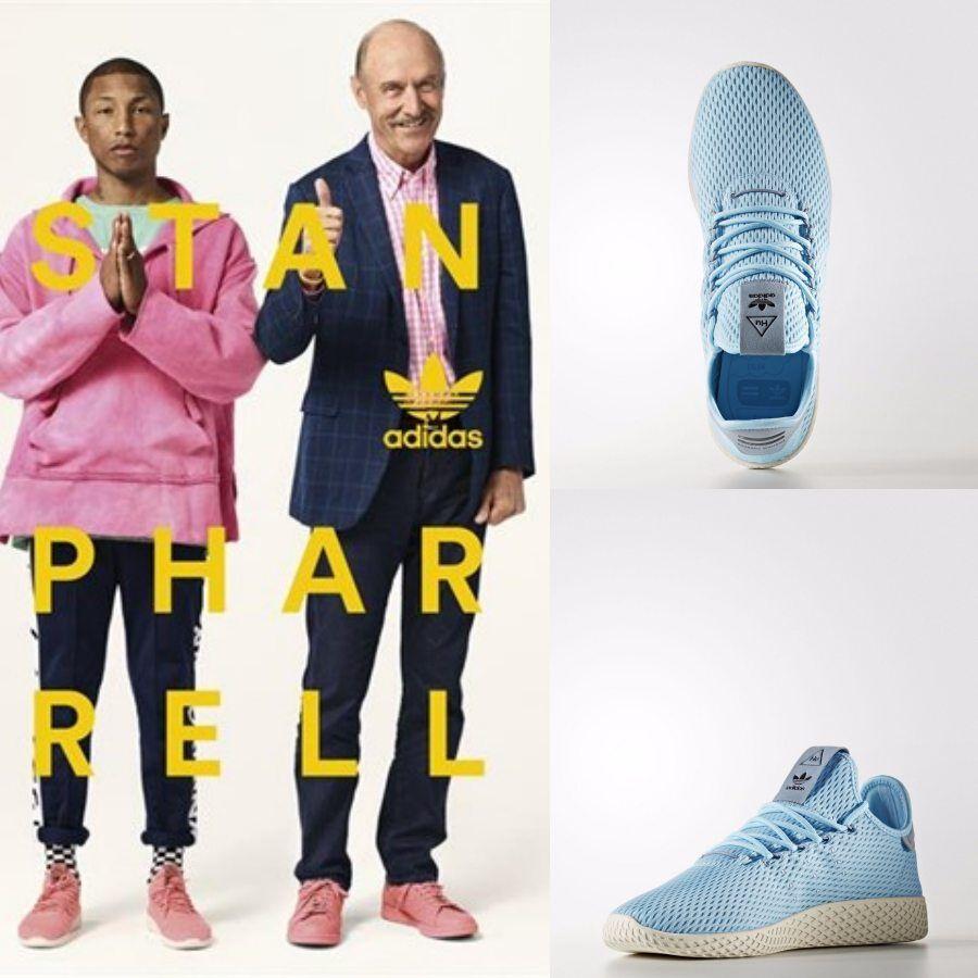 Adidas x Pharrell Williams PW Tennis HU Unisex Running Blau CP9764 Größe 4-11