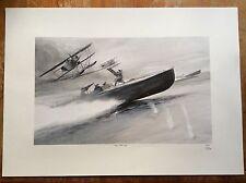 Limited Edition Aviation Print CMB Hansa-Brandenburg W.12 Keith Burns