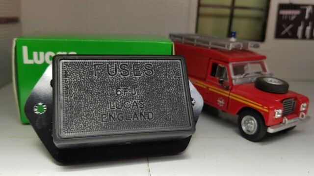 Land Rover Series 1 2 2a Genuine Lucas Fuse FUSEBOX & Cover 606253 for sale  online | eBayeBay