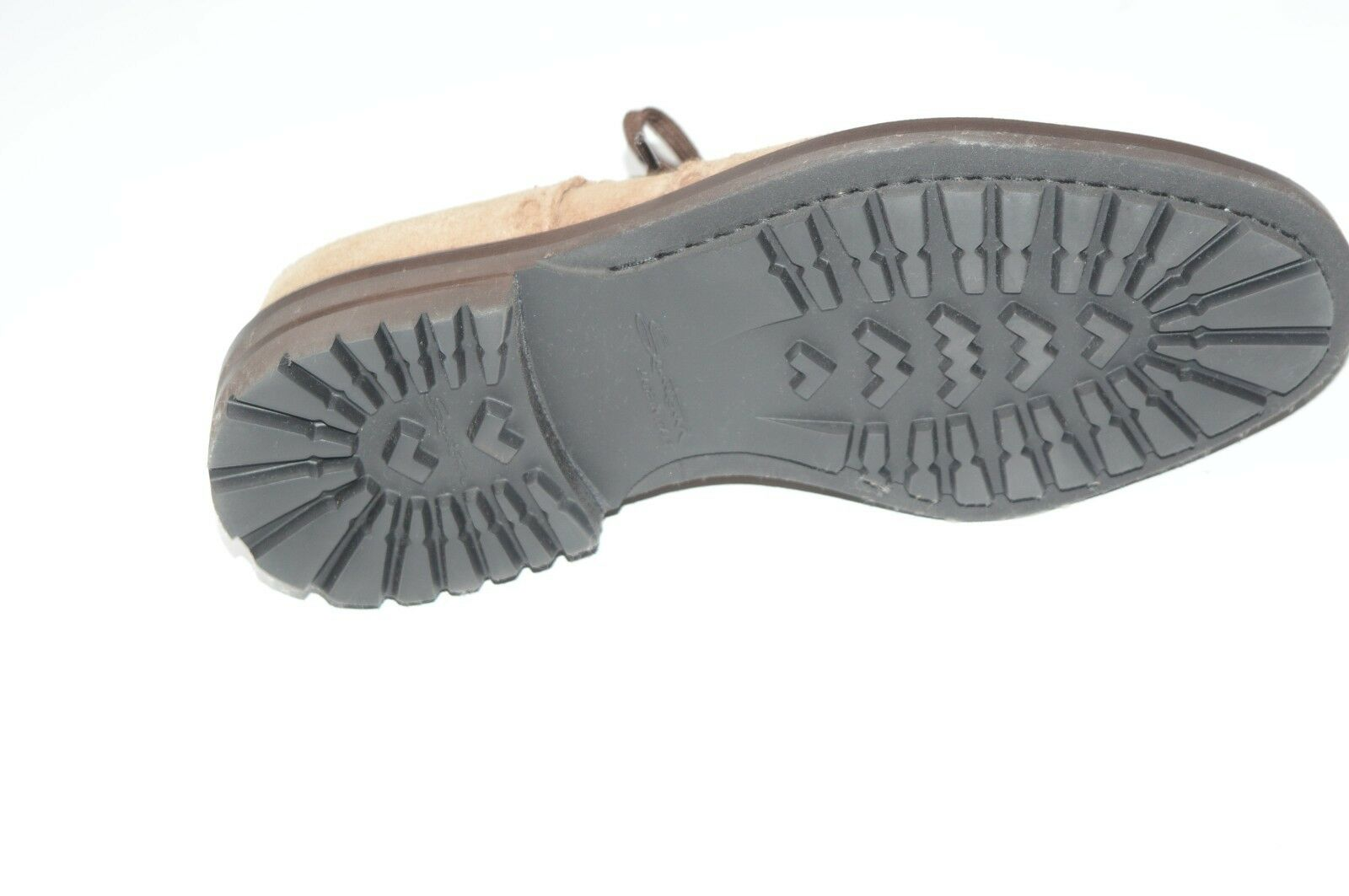 NEW SANTONI Leather Dress schuhe Größe Eu 42 Uk 8 8 8 Us 9 (NE10) fecf89