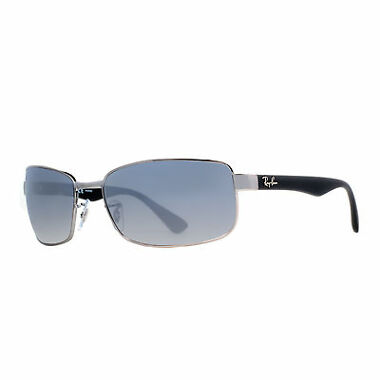 Ray Ban RB 3478 004/78 63mm Polarized Wrap Sunglasses
