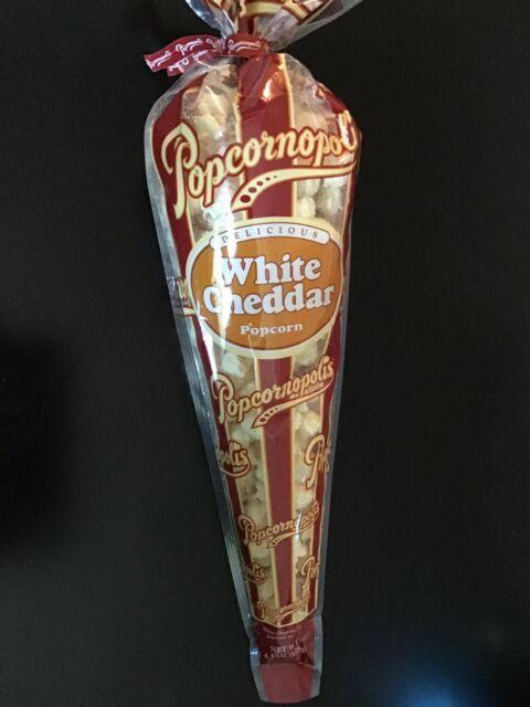 Popcornopolis White Cheddar popcorn Gluten Free | eBay