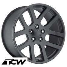 "(4) 20 inch 20x9"" Dodge Viper Style Matte Black Wheels Rims fit Challenger 09-17"