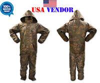 Camouflage Rain Suit All Purpose Weatherproof Waterproof Camo Suit All Sizes