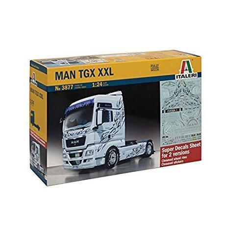 MAN TGX XXL  modellino riproduzione motrice MAN scala 1 24 ITALERI 3877